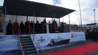 Приказ о зачислении спасательного судна «Игорь Белоусов» в состав ВМФ.