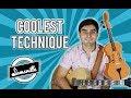 COOLEST Guitar Technique I Know (Walking Bassline + Chords Lesson)