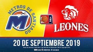 Metros Vs Leones 20 Sept. 2019