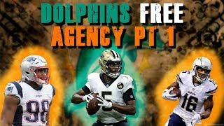 Miami Dolphins Free Agency Pt 1