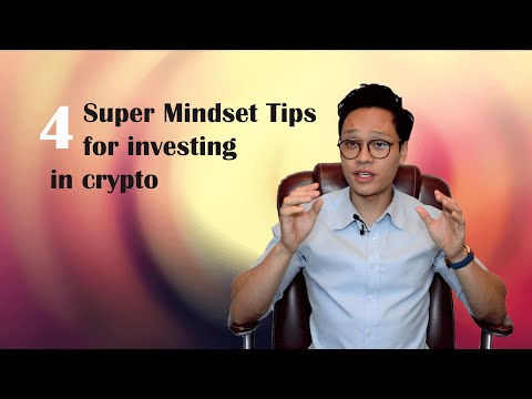4 MINDSET TIPS so you know how to invest in CRYPTOCURRENCY!