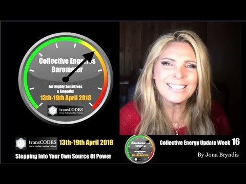 13th-19th APRIL 2018 Energy Update & Energy Tips For Empaths (Week 16) with Jona Bryndis