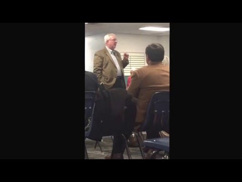 "Knox Co. Law Director Richard ""Bud"" Armstrong at Halls Rep. Club 1-18-2016"