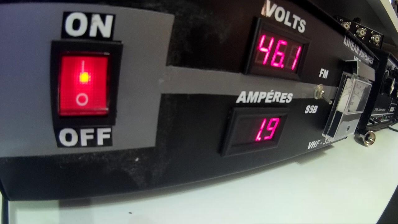 Linear VHF 500 watts SSb 300 watts FM