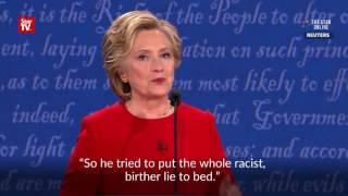 Clinton and Trump go head-to-head