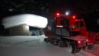 Thiokol Imp deep snow test run