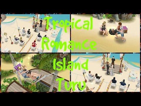 [The Sims Freeplay] - Tropical Romance Island Turu