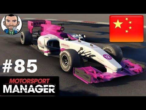 MotorSport Manager PC | Let's Play #85 | Career - Velan | Race 3 BEIJING