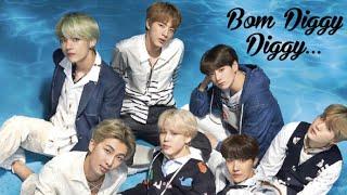 Bom diggy diggy ft. BTS FMV | BTS Bollywood Mix| BTS hindi  song Mix | #BTS  #FMV #BomDiggy #SKTKS