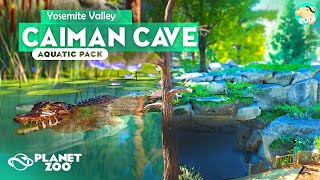 DWARF CAIMAN Underwater Cave - Yosemite Valley - Planet Zoo Aquatic Pack