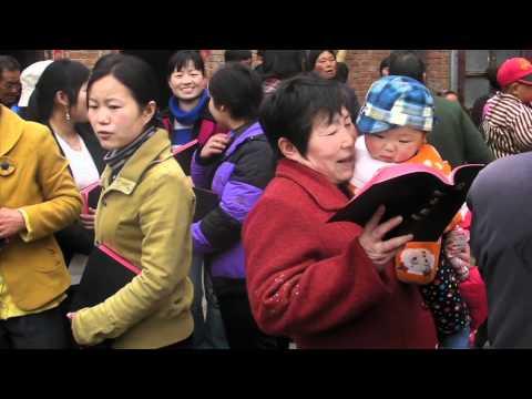 Bibeldistribusjon På Den Kinesiske Landsbygda