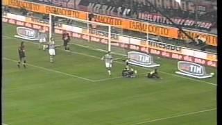 Serie A 2001/2002: AC Milan vs Juventus 1-1 - 2001.12.09 -