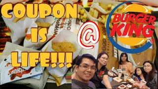 BURGER KING'S KING COUPON PROMO