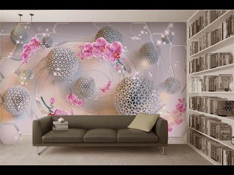 +50 Stylish 3D wallpaper for living & Bedroom walls, 3D wall murals(AS Royal Decor)