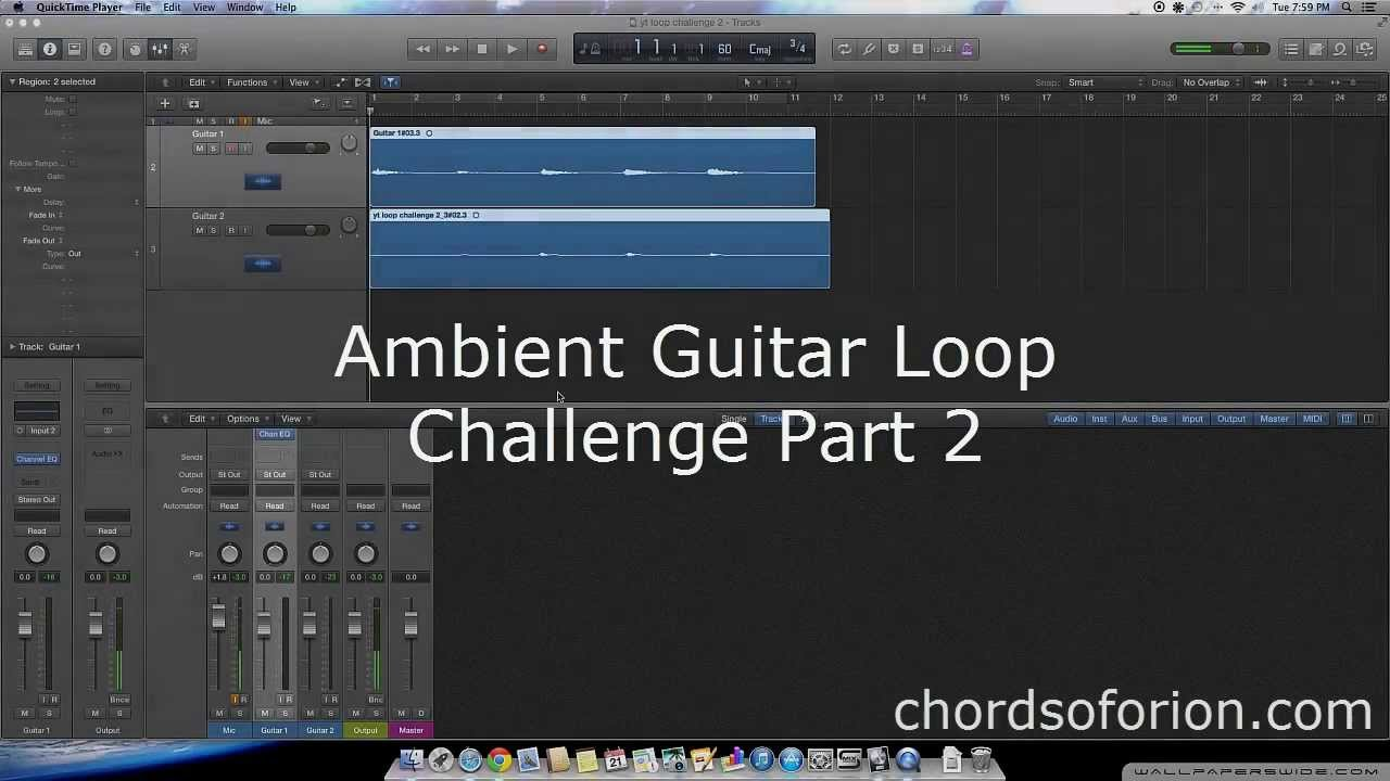 creating ambient guitar loops with logic pro x ambient guitar loop challenge part 2 youtube. Black Bedroom Furniture Sets. Home Design Ideas