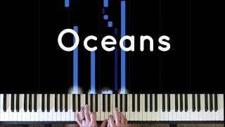 Oceans - Hillsong / Piano Cover + Sheet Music