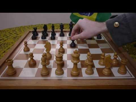 Variação abertura a4 de brancas - a4 e5, e4!