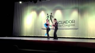 Ecuador Salsa Congress 2013 - Special Dance Performance