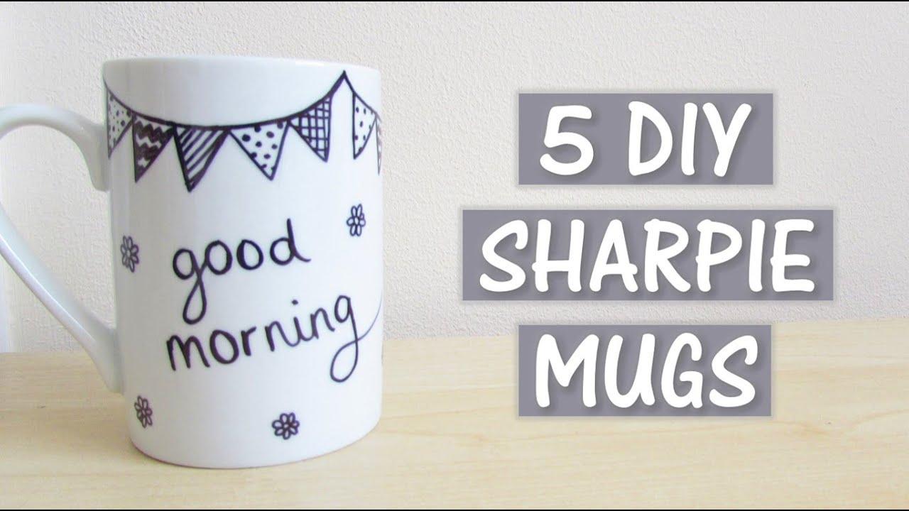 5 Sharpie Mugs Diy Creaternet