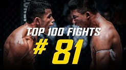 Rodtang Jitmuangnon vs. Walter Goncalves | ONE Championship's Top 100 Fights | #81