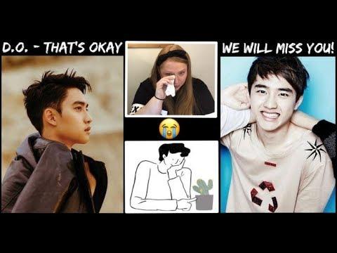 Reacting To (EXO) D.O. -That's Okay MV (괜찮아도 괜찮아)