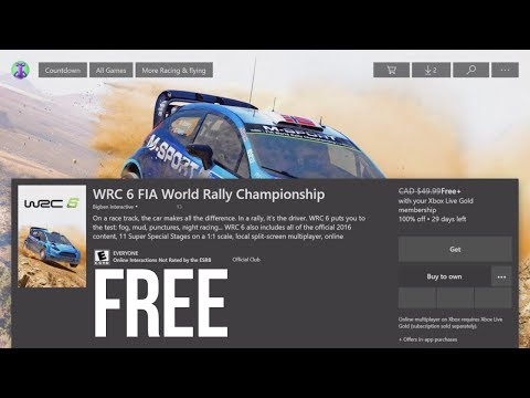 How To Download: WRC 6 FIA World Rally Championship For FREE In Xbox One | Xbox One S | Free Game