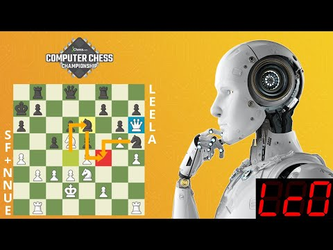 Leela Wins Tournament Versus Stockfish+NNUE! | Computer Chess Championship