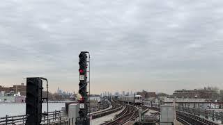 NYC Subway | R46 & R160 (F) Trains @ Kings Hwy & 18th Ave