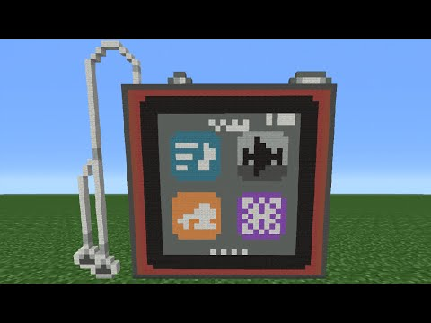 Minecraft Tutorial: How To Make An Ipod Nano