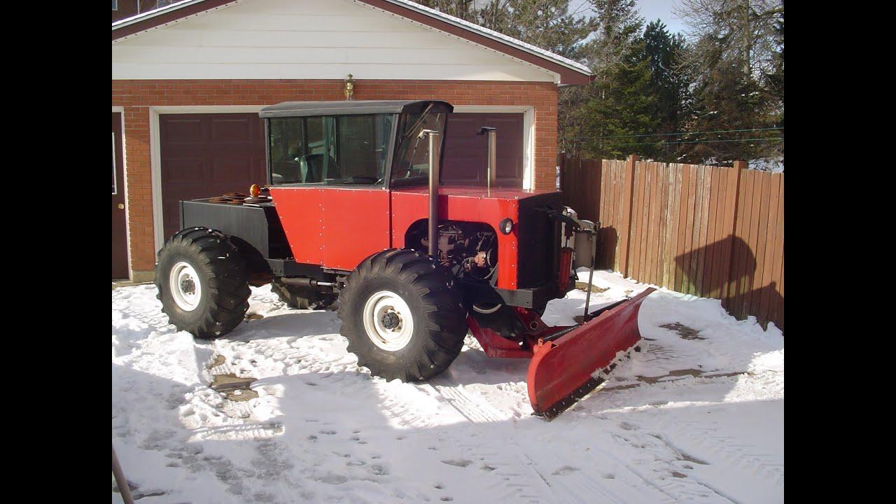 Homemade Tractor January 28th 2009 - YouTube