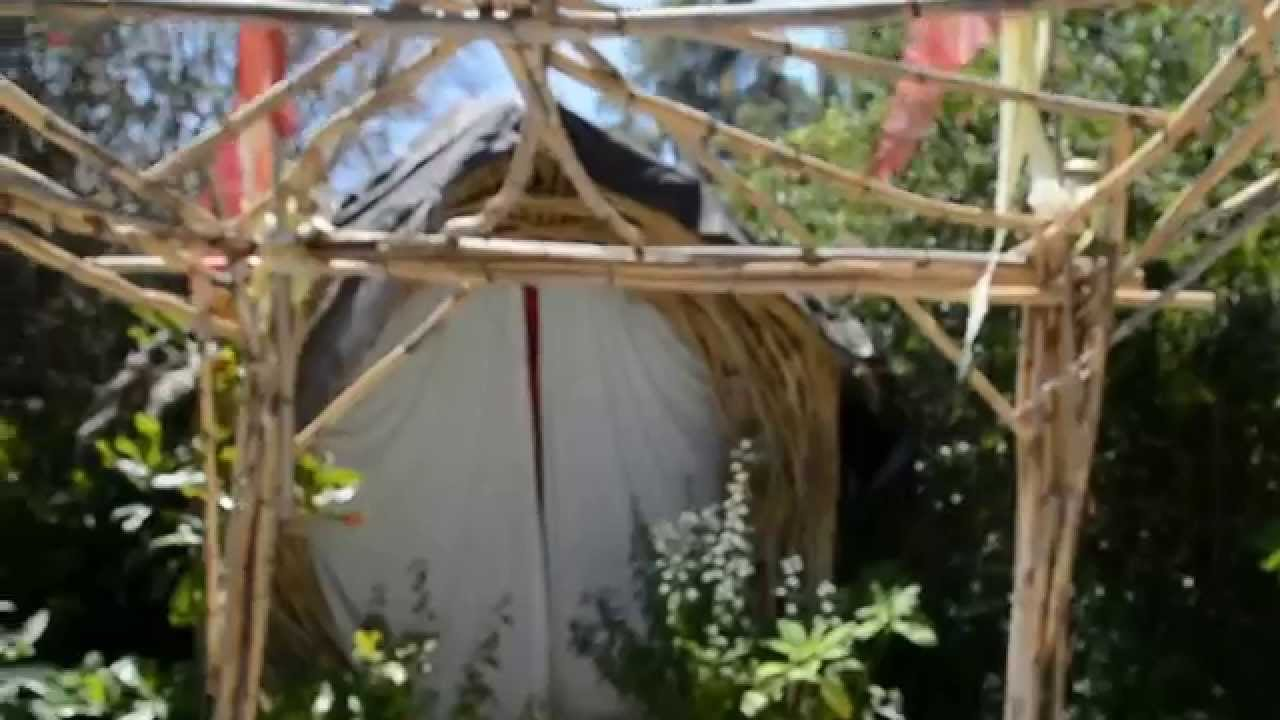 Making your own trellis using arundo donax grass in for Making things for the garden
