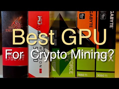 Best GPU For MINING Cryptocurrency?