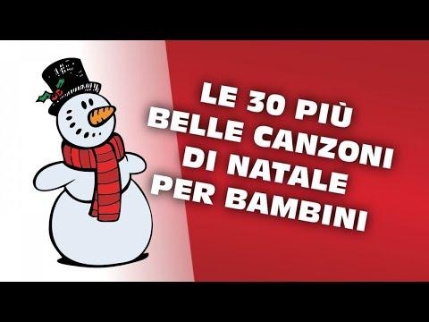 Le 30 più belle canzoni di Natale per bambini