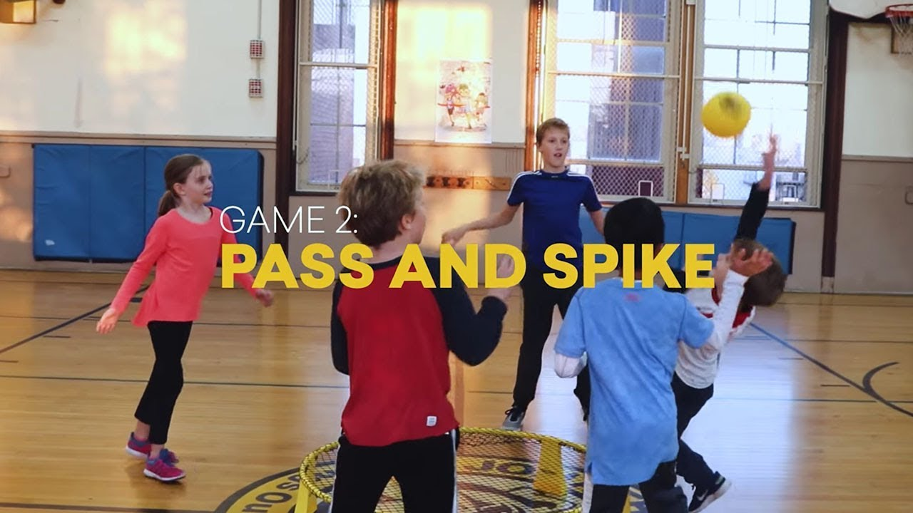 Spikeball™ Rookie Game 2 -  Pass and Spike
