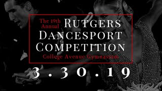 19th Rutgers Dancesport Ballroom Competition