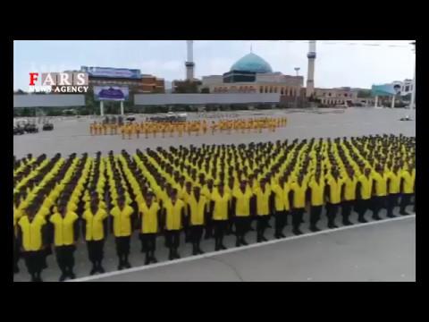 Iran IRGC Imam Hossein Comprehensive University officers graduated دانش آموختگي دانشگاه امام حسين