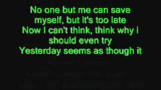 Metallica - Fade To Black lyrics