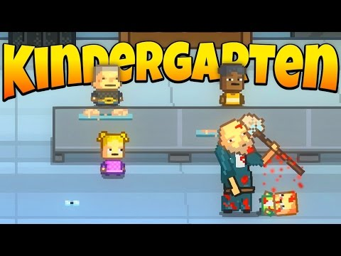 Get Kindergarten - Ep. 1 - Don't Trust the Janitor! - Let's Play Kindergarten Gameplay Screenshots
