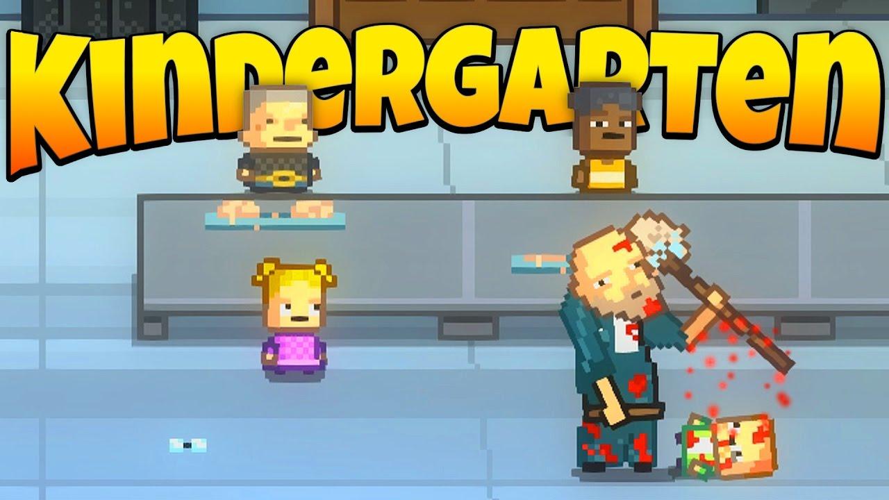 Kindergarten - Ep. 1 - Don't Trust the Janitor! - Let's Play Kindergarten Gameplay