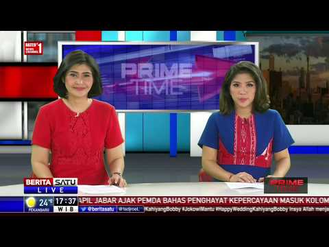 Jokowi Sambut Kedatangan Presiden Korsel di Istana Bogor
