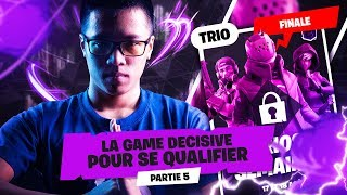 LA GAME DÉCISIVE POUR SE QUALIFIER ► FINALE FORTNITE CHAMPION SERIES | Partie 5