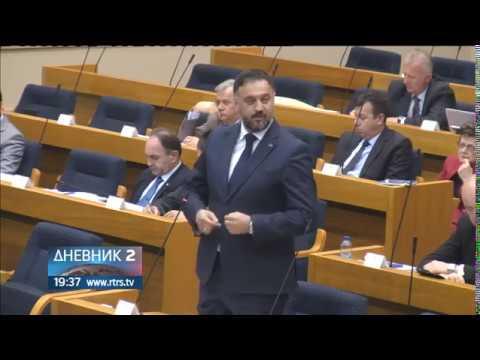 O bezbjednosnoj situaciji u Srpskoj na narednoj redovnoj sjednici NSRS