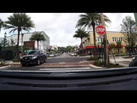 MOUNT DORA FLORIDA street tour