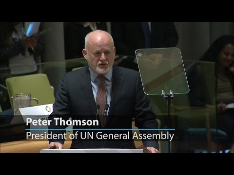 UN General Assembly President urges climate action for welfare of future generations