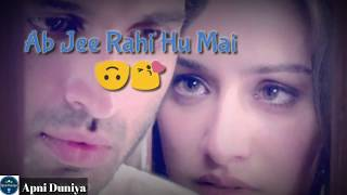 Tum hi ho female cover Best whatsapp status with dialogue romantic song lyrics must watch