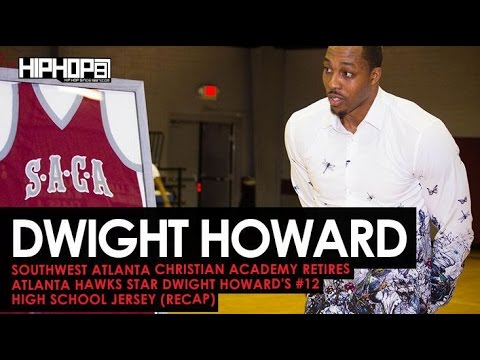 Southwest Atlanta Christian Academy Retires Dwight Howard's #12 High School Jersey (Interview/Recap)