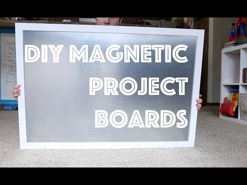 How To Make Magnetic Project Boards | The Imperfect Projects