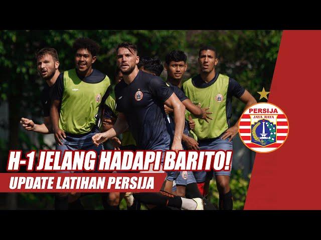 Latihan Persija di Lapangan Universitas Muhammadiyah Malang Jelang Hadapi Barito Putera