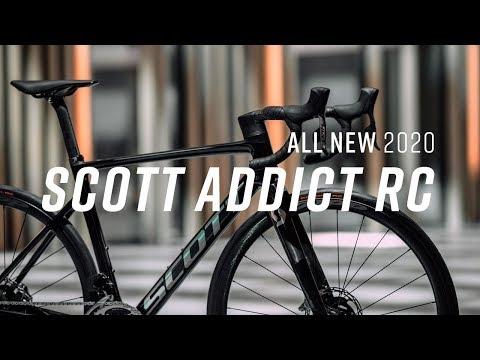 Scott Addict RC Road Bike 2020 First Look   Sigma Sports