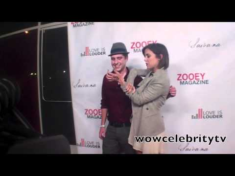 Jessica stroup at ZOOEY Magazine party